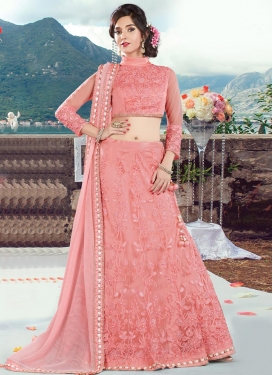 Enchanting Embroidered Work Trendy Designer Lehenga Choli