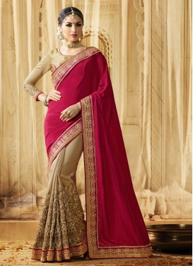 Enchanting Half N Half Saree For Party
