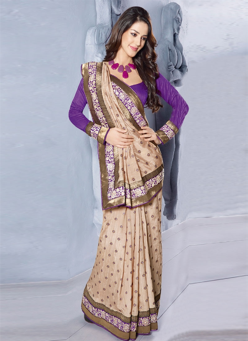 Enchanting Patch Enhanced Party Wear Saree