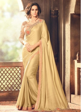 Enchanting Satin Silk Traditional Designer Saree