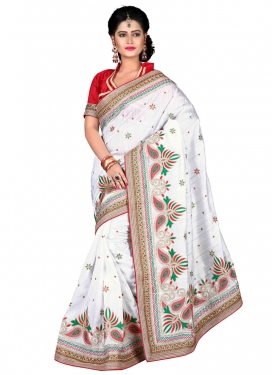 Energetic Stone Work Designer Saree