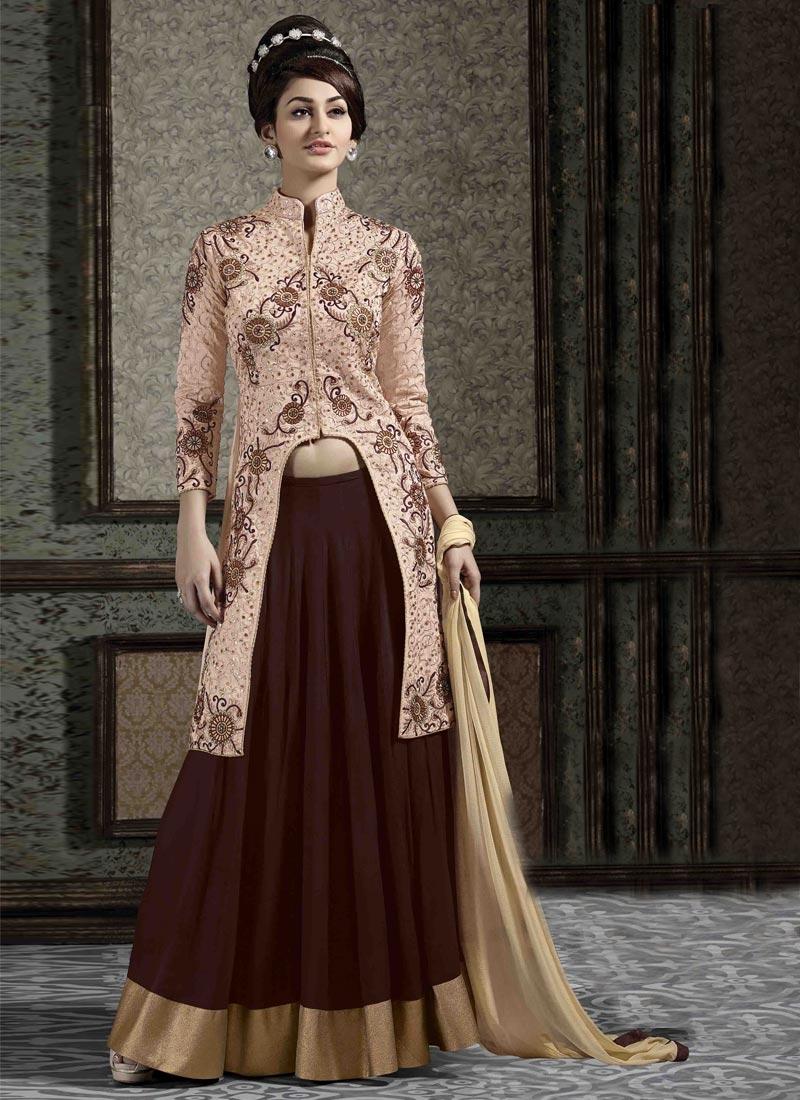 Engrossing Banarasi Silk Designer Lehenga Choli