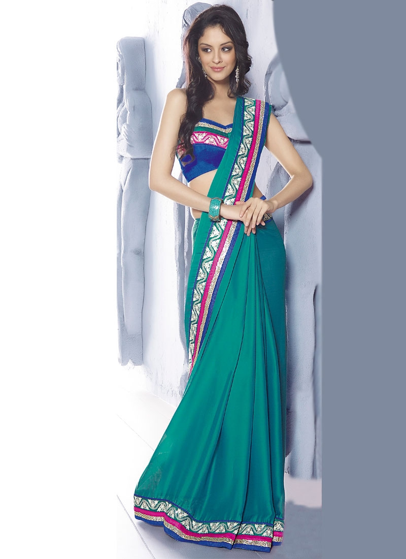 Enthralling Chiffon Party Wear Saree