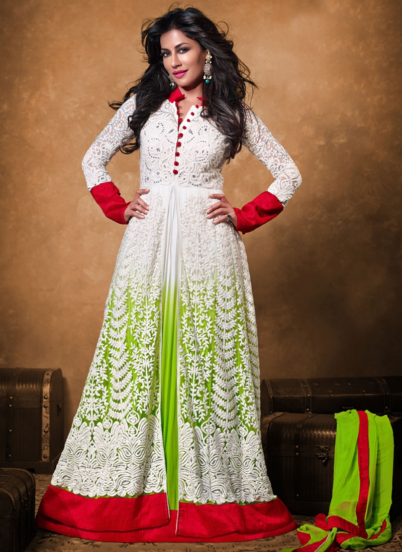 Jaal Work Chitrangada Singh Designer Salwar Kameez