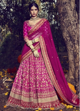 Enticing  A - Line Lehenga For Bridal