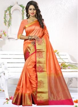Epitome  Art Silk Trendy Classic Saree