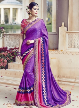Epitome Jacquard Silk Classic Designer Saree