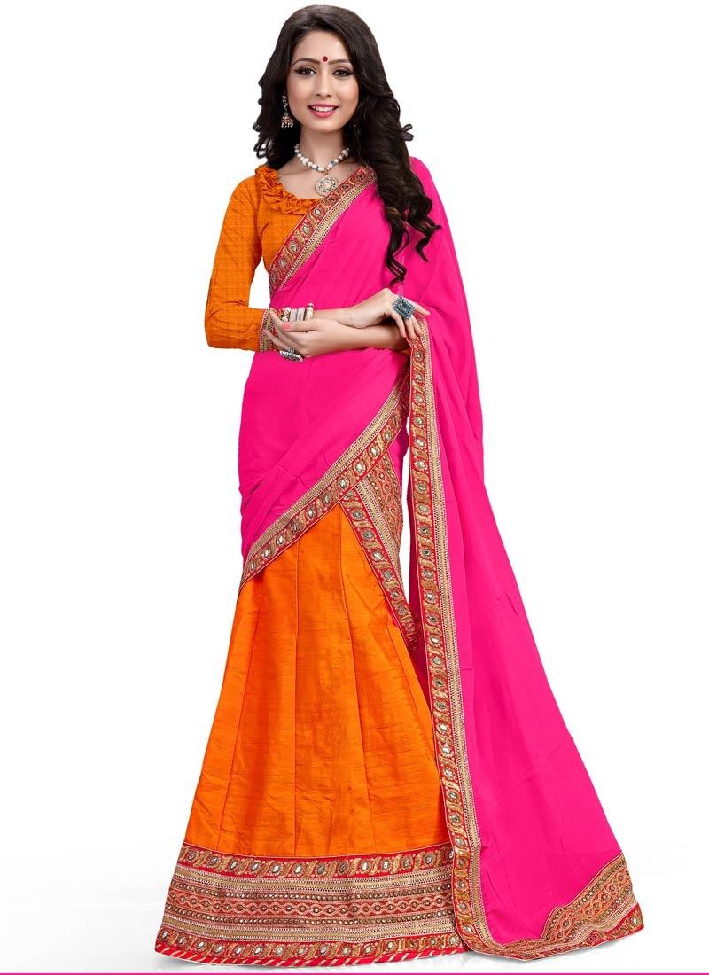 Epitome Lace And Resham Work Silk Designer Lehenga Choli