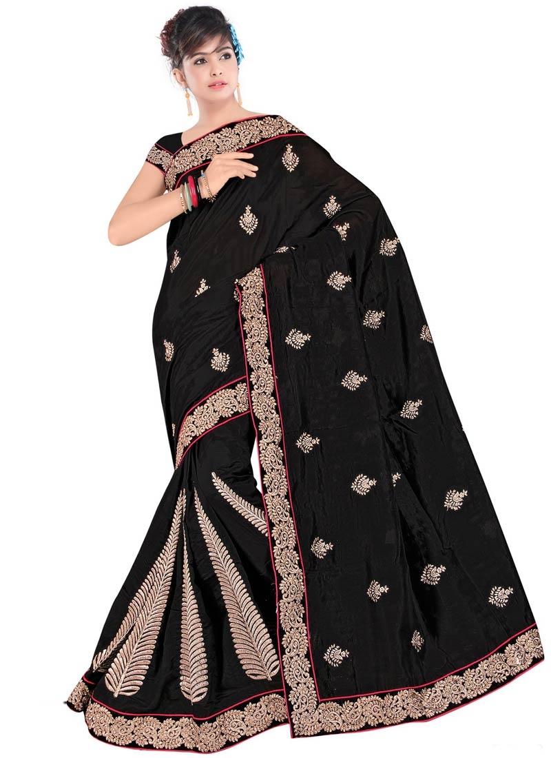 Especial Bhagalpuri Silk Booti Work Party Wear Saree