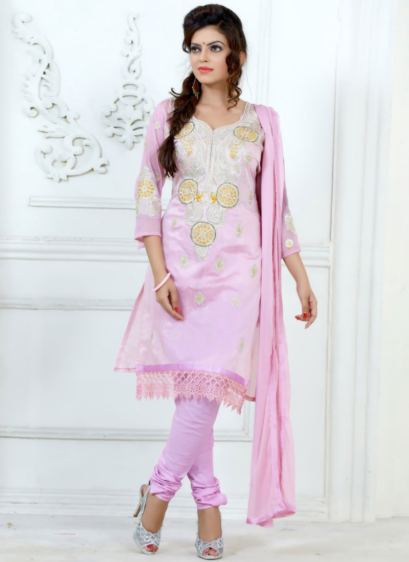 Especial Chanderi Cotton Silk Churidar Suit
