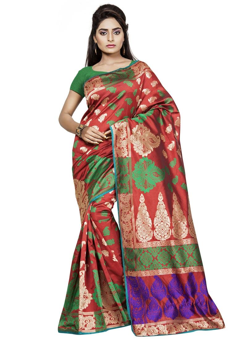 Exceeding Art Silk Casual Saree