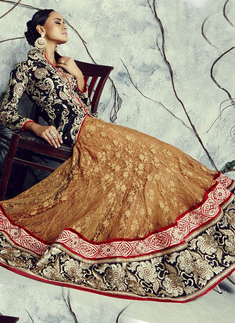 Exceeding Bhagalpuri Silk And Net Party Wear Lehenga Choli