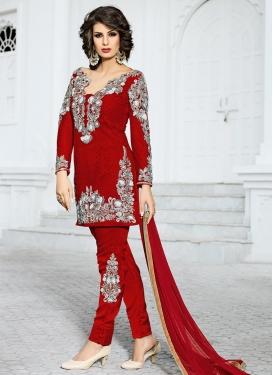 Exceeding  Booti Work Pant Style Designer Salwar Suit