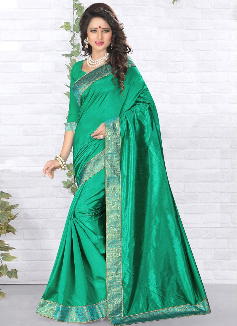 Exceeding Lace And Resham Work Casual Saree