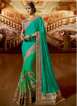 Excellent  Fancy Fabric Traditional Saree