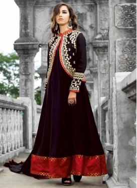 Excellent Jacket Style Designer Salwar Kameez