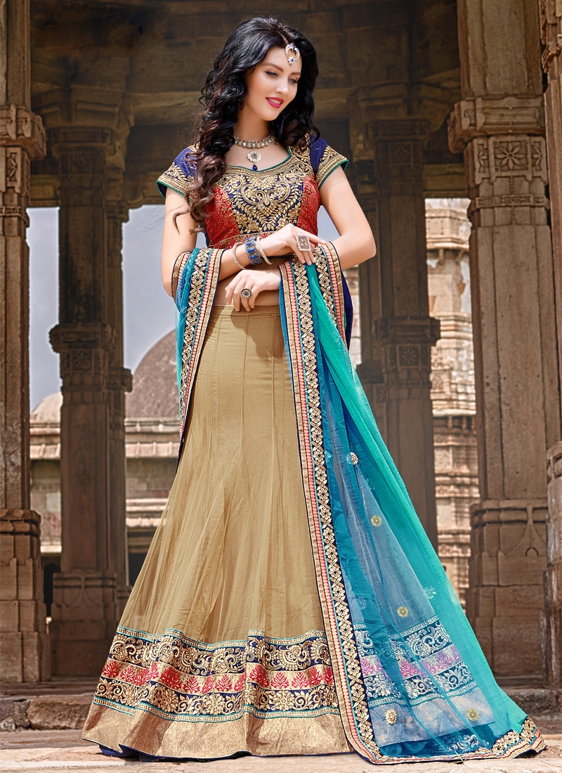 Exceptional Patch Border Work Designer Lehenga Choli