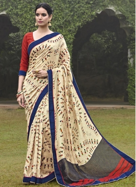 Exciting  Art Silk Trendy Classic Saree