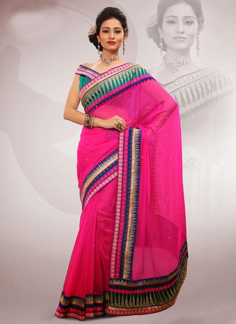Exotic Jute Silk And Organza Party Wear Saree