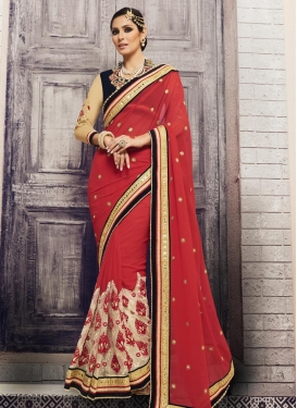 Exquisite  Faux Georgette Traditional Designer Saree