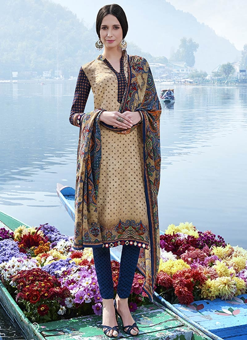 Exquisite Mirror Work Pant Style Casual Suit