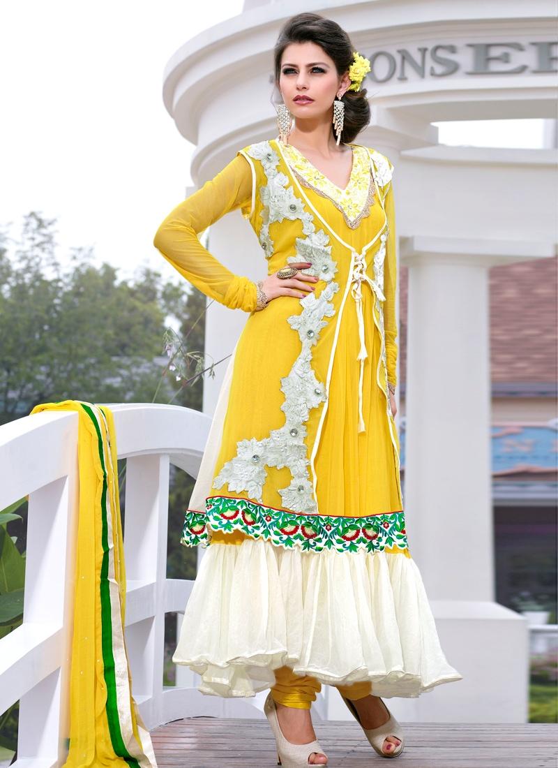 Exquisite Net Designer Salwar Kameez