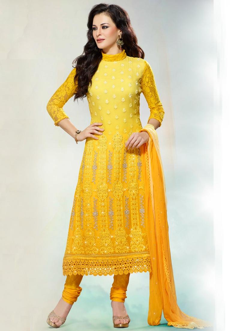Exquisite stone enhanced pakistani salwar suit for Exquisite stone