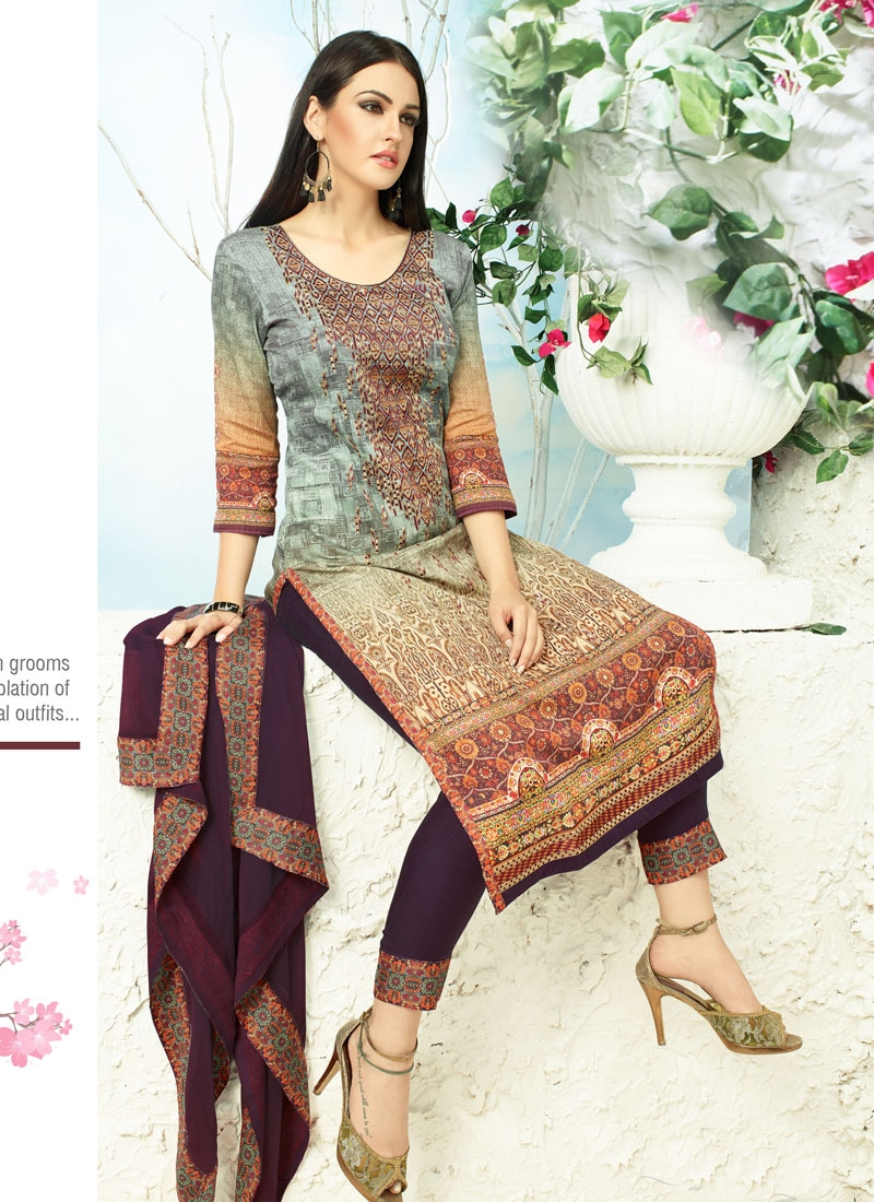 Extraordinary Embroidery Work Pant Style Party Wear Salwar Suit