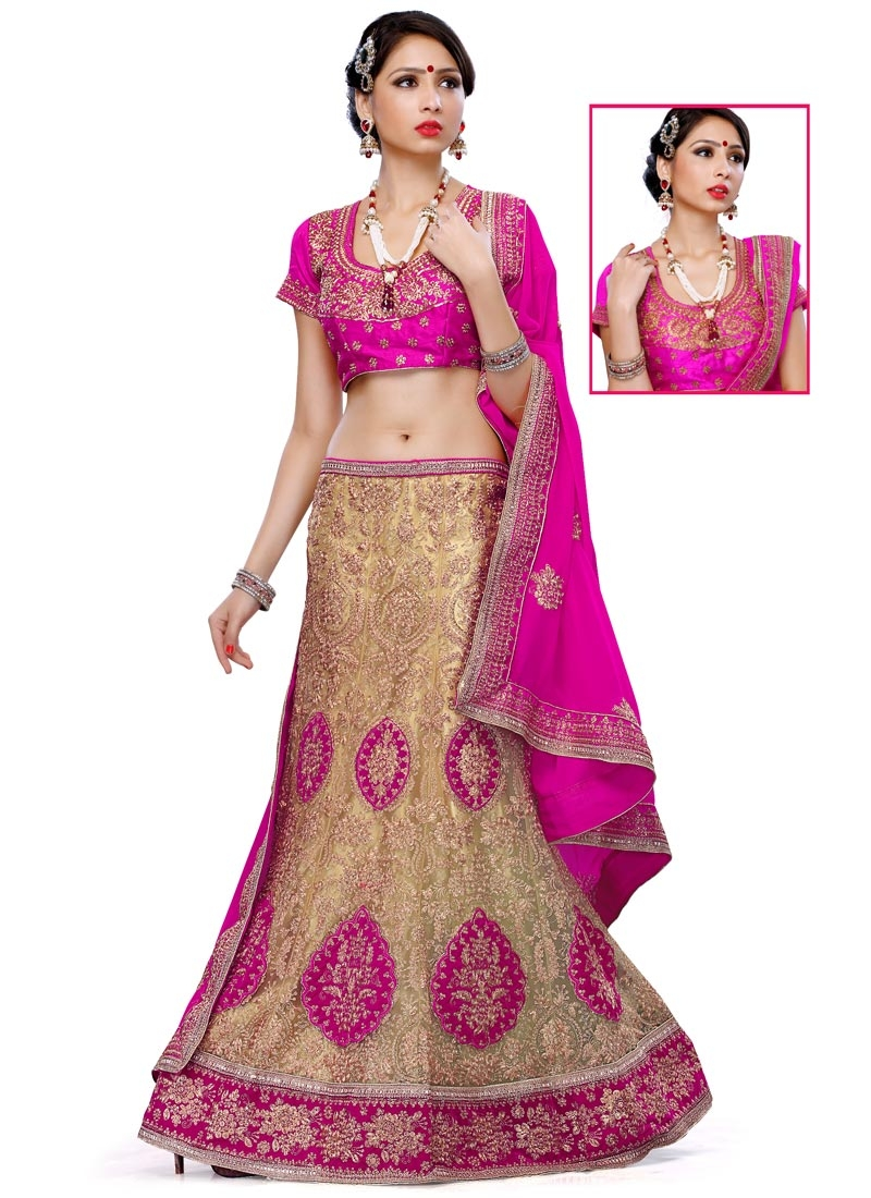 Exuberant Velvet Patch Work Bridal Lehenga Choli