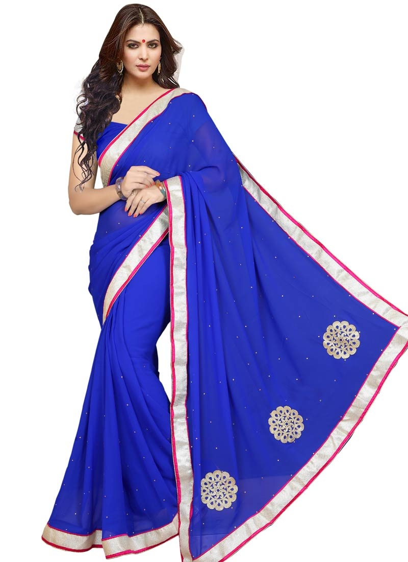 Fantastic Booti Work Casual Saree