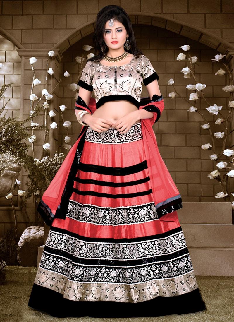 Fantastic Lace Work Banglori Silk Designer Lehenga Choli