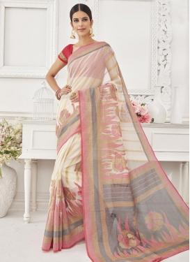 Fantastic Resham Work Classic Saree