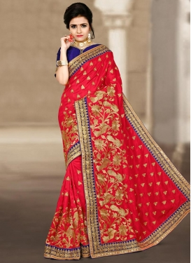 Fashionable Contemporary Style Saree For Festival