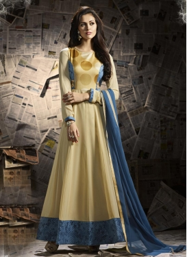 Faux Georgette  Anarkali Salwar Kameez For Ceremonial