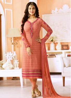 Faux Georgette Ayesha Takia Trendy Salwar Kameez