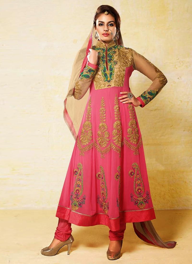 Faux Georgette Hema Kureshi Designer Salwar Suit