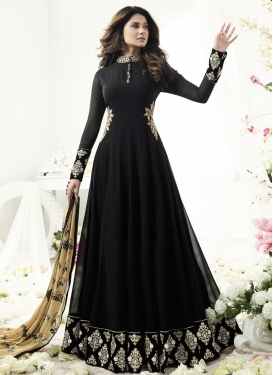 Faux Georgette Long Length Anarkali Salwar Suit For Ceremonial