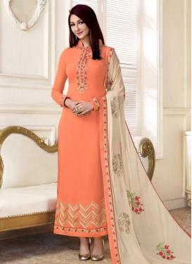 Faux Georgette Long Length Pakistani Salwar Suit