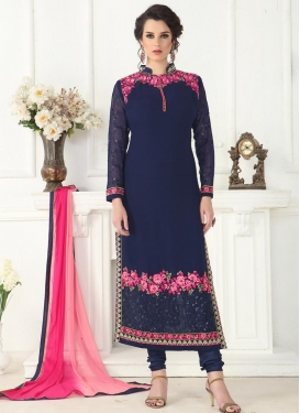 Faux Georgette Pakistani Salwar Kameez For Ceremonial