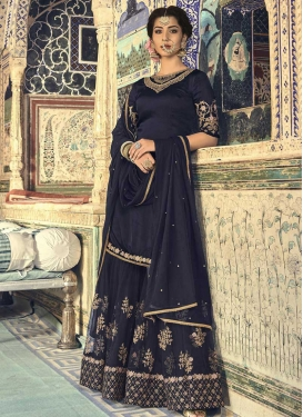 Faux Georgette Sharara Salwar Suit