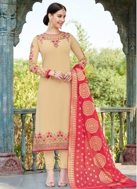 Faux Georgette Trendy Pakistani Salwar Suit