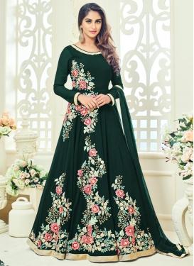 Festal  Long Length Anarkali Suit For Ceremonial