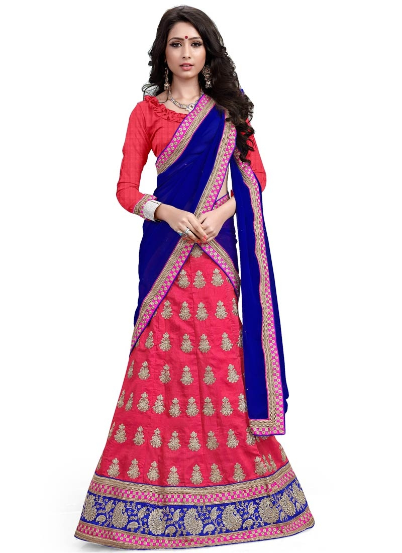 Fetching Stone Work Rose Pink Color Designer Lehenga Choli
