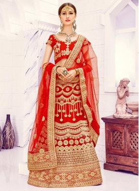 Fine Embroidered Work Lehenga Choli