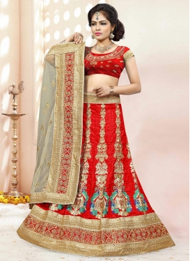 Fine  Trendy Lehenga Choli For Festival
