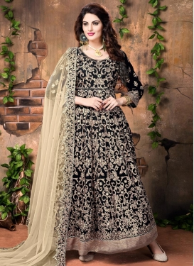 Flamboyant  Long Length Anarkali Salwar Suit For Festival