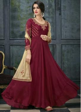 Flaring Anarkali Salwar Suit For Ceremonial