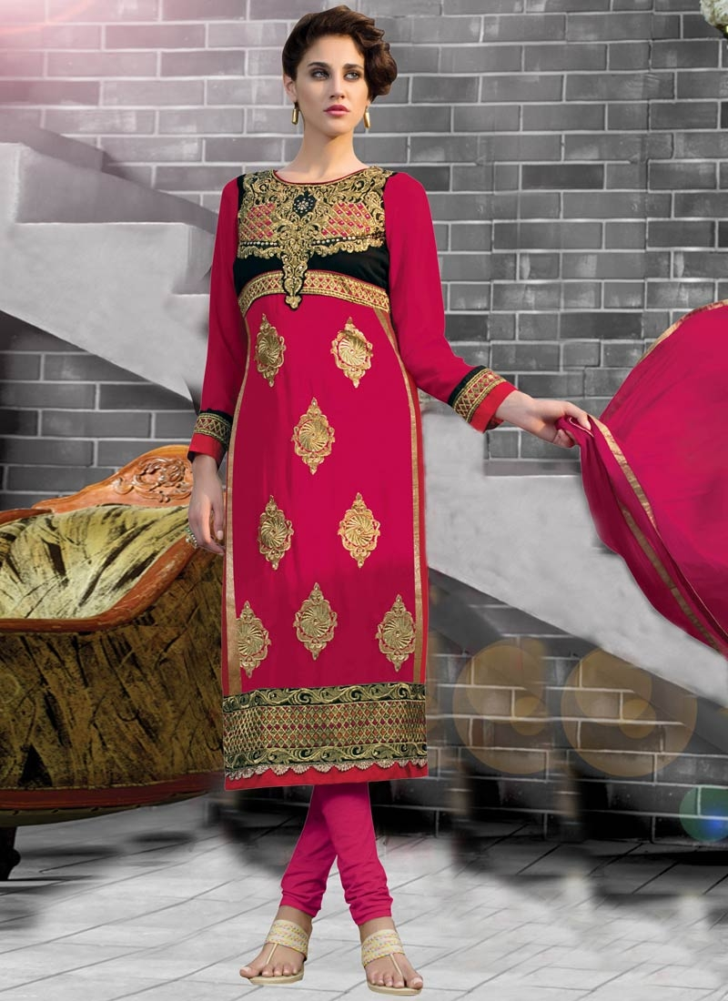 Flawless Booti And Resham Work Party Wear Salwar Kameez