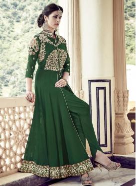 Flawless Booti Work  Trendy Designer Salwar Kameez