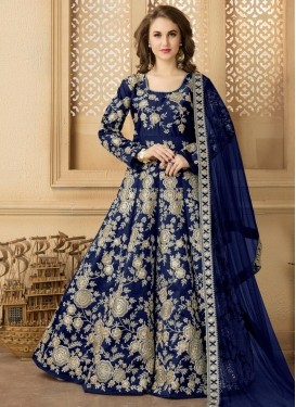 Flawless  Floor Length Anarkali Suit For Festival
